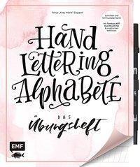 Handlettering Alphabete - Das Übungsheft, mit Stift (Original Tombow ABT Dual Brush Pen), Tanja Cappell
