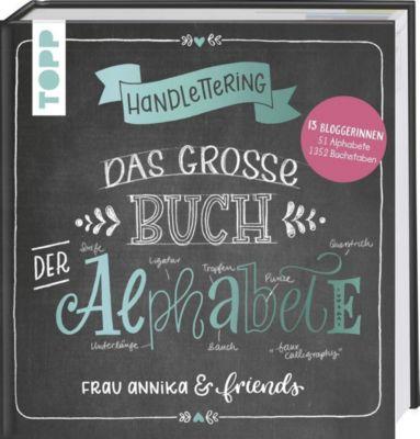 Handlettering. Das große Buch der Alphabete, Frau Annika