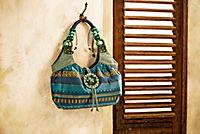 """Handtasche """"Ethno"""", türkis - Produktdetailbild 1"""