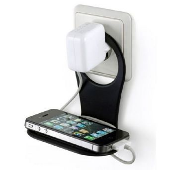 Handy-Ladehalterung Phone Holder 2Tone - charcoal