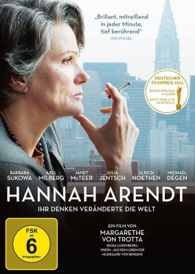 Hannah Arendt, DVD, Barbara Sukowa, Axel Milberg