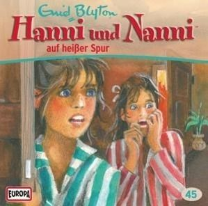 Hanni und Nanni auf heisser Spur, 1 Audio-CD, Enid Blyton