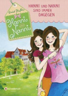 Hanni und Nanni Band 1: Hanni und Nanni sind immer dagegen, Enid Blyton