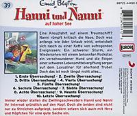 Hanni und Nanni Band 39: Hanni und Nanni auf hoher See (1 Audio-CD) - Produktdetailbild 1