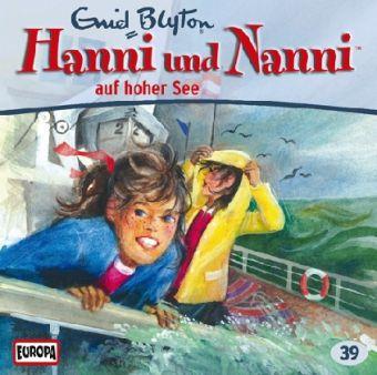 Hanni und Nanni Band 39: Hanni und Nanni auf hoher See (1 Audio-CD), Enid Blyton