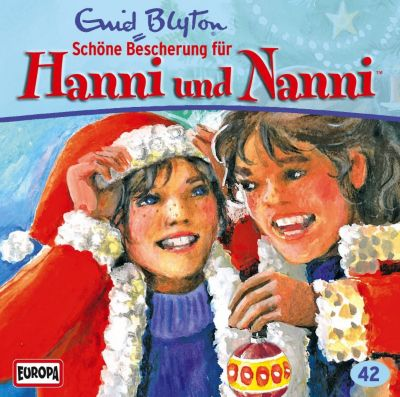 Hanni und Nanni Band 42 1 Audio-CD: Schöne Bescherung für Hanni und Nanni (Audio-CD) - Enid Blyton |