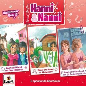 Hanni und Nanni - Die 14. Box (Folgen 46-48) (3 CDs), Enid Blyton