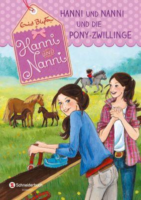 Hanni und Nanni und die Pony-Zwillinge, Enid Blyton