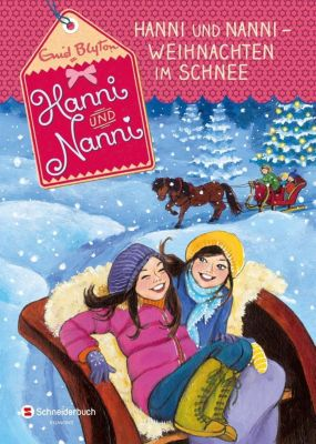Hanni und Nanni - Weihnachten im Schnee, Enid Blyton