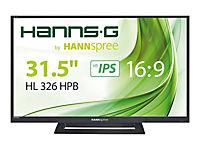 HANNSPREE HL326HPB 80cm 31,5Zoll IPS LED Display VGA 2xHDMI - Produktdetailbild 1