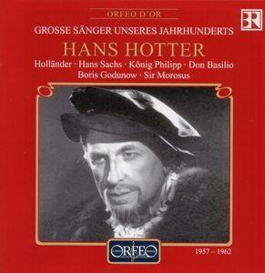 Hans Hotter-Opernmonologe:Holländer/Barbier/+, Hotter, Jochum, Alberth, Sobr