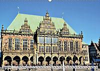 Hansestadt Bremen - Ein Stadtstaat an der Weser (Wandkalender 2019 DIN A2 quer) - Produktdetailbild 1