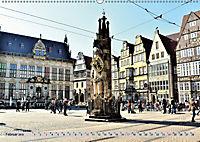 Hansestadt Bremen - Ein Stadtstaat an der Weser (Wandkalender 2019 DIN A2 quer) - Produktdetailbild 2