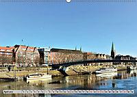 Hansestadt Bremen - Ein Stadtstaat an der Weser (Wandkalender 2019 DIN A2 quer) - Produktdetailbild 4