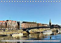 Hansestadt Bremen - Ein Stadtstaat an der Weser (Tischkalender 2019 DIN A5 quer) - Produktdetailbild 4