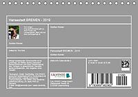 Hansestadt Bremen - Ein Stadtstaat an der Weser (Tischkalender 2019 DIN A5 quer) - Produktdetailbild 13