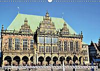 Hansestadt Bremen - Ein Stadtstaat an der Weser (Wandkalender 2019 DIN A3 quer) - Produktdetailbild 1