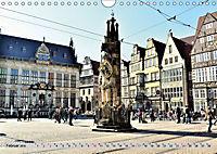 Hansestadt Bremen - Ein Stadtstaat an der Weser (Wandkalender 2019 DIN A4 quer) - Produktdetailbild 2