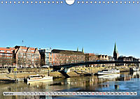 Hansestadt Bremen - Ein Stadtstaat an der Weser (Wandkalender 2019 DIN A4 quer) - Produktdetailbild 4