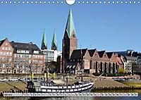 Hansestadt Bremen - Ein Stadtstaat an der Weser (Wandkalender 2019 DIN A4 quer) - Produktdetailbild 7