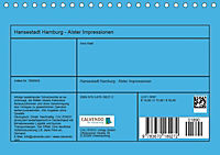 Hansestadt Hamburg - Alster Impressionen (Tischkalender 2019 DIN A5 quer) - Produktdetailbild 13