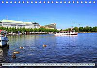 Hansestadt Hamburg - Alster Impressionen (Tischkalender 2019 DIN A5 quer) - Produktdetailbild 11