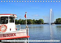 Hansestadt Hamburg - Alster Impressionen (Tischkalender 2019 DIN A5 quer) - Produktdetailbild 2
