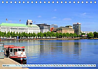 Hansestadt Hamburg - Alster Impressionen (Tischkalender 2019 DIN A5 quer) - Produktdetailbild 4