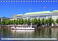 Hansestadt Hamburg - Alster Impressionen (Tischkalender 2019 DIN A5 quer) - Produktdetailbild 9