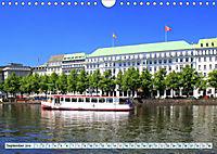 Hansestadt Hamburg - Alster Impressionen (Wandkalender 2019 DIN A4 quer) - Produktdetailbild 9