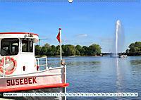 Hansestadt Hamburg - Alster Impressionen (Wandkalender 2019 DIN A2 quer) - Produktdetailbild 2