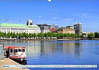 Hansestadt Hamburg - Alster Impressionen (Wandkalender 2019 DIN A2 quer) - Produktdetailbild 4