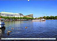 Hansestadt Hamburg - Alster Impressionen (Wandkalender 2019 DIN A2 quer) - Produktdetailbild 11