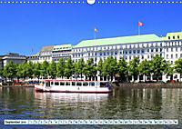 Hansestadt Hamburg - Alster Impressionen (Wandkalender 2019 DIN A3 quer) - Produktdetailbild 9