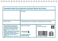 Hansestadt Uelzen - Die sympathische Ulenköperstadt an der Ilmenau (Tischkalender 2019 DIN A5 quer) - Produktdetailbild 13