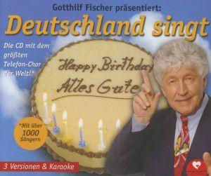 Happy Birthday-Alles Gute, Gotthilf Fischer