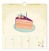 Happy Birthday, Geburtstagskalender (Lieblingsstücke) - Produktdetailbild 5