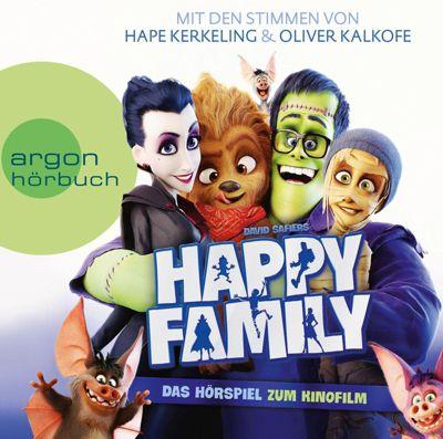 Happy Family, 1 Audio-CD, David Safier