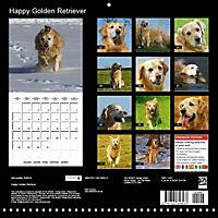 Happy Golden Retriever (Wall Calendar 2019 300 × 300 mm Square) - Produktdetailbild 13