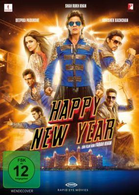 Happy New Year, Shah Rukh Khan