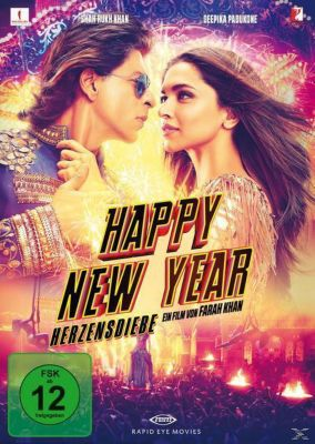 Happy New Year - Herzensdiebe Special Limited Edition, Shah Rukh Khan