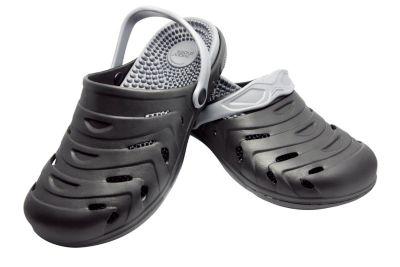 happy® shoes Clogs Massage-Wohlfühl-Schuh, schwarz (Grösse: 38)