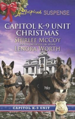 Harlequin - Series eBook - Love Inspired: Capitol K-9 Unit Christmas: Protecting Virginia (Capitol K-9 Unit, Book 7) / Guarding Abigail (Capitol K-9 Unit, Book 8) (Mills & Boon Love Inspired Suspense), Lenora Worth, Shirlee McCoy