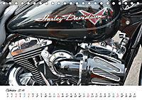 Harley Davidson - Details einer Legende (Tischkalender 2019 DIN A5 quer) - Produktdetailbild 10