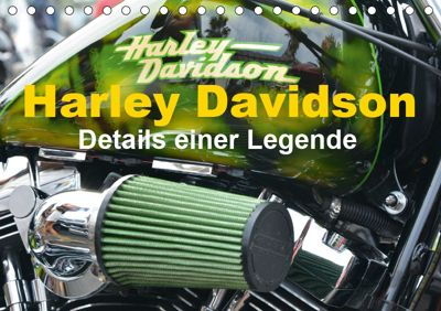 Harley Davidson - Details einer Legende (Tischkalender 2019 DIN A5 quer), Thomas Bartruff
