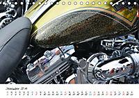 Harley Davidson - Details einer Legende (Tischkalender 2019 DIN A5 quer) - Produktdetailbild 12