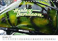 Harley Davidson - Details einer Legende (Tischkalender 2019 DIN A5 quer) - Produktdetailbild 11