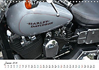 Harley Davidson - Details einer Legende (Wandkalender 2019 DIN A4 quer) - Produktdetailbild 4