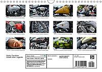 Harley Davidson - Details einer Legende (Wandkalender 2019 DIN A4 quer) - Produktdetailbild 1