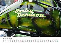 Harley Davidson - Details einer Legende (Wandkalender 2019 DIN A4 quer) - Produktdetailbild 3